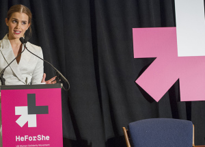 Emma Watson He for She event